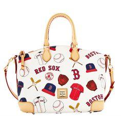 Boston Red Sox Dooney & Bourke Women's Satchel Ð White - $248.00