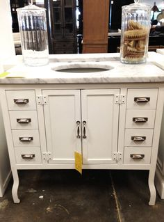 restoration hardware pharmacy single vanity