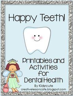 Dental Health Activities-Happy Teeth!