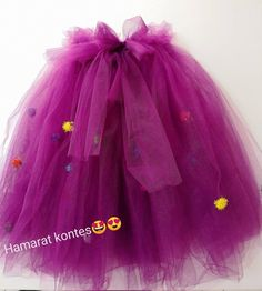 First Birthday Princess Tutu, Baby Girl Outfit, Tutu Skirt Purple And Turquoise, Baby Gown Special Occasion, Birthday Clothing For Baby Girl – Mom and Baby Long Tutu Skirt, Pink Tulle Skirt, Purple Skirt, Tulle Fabric, Gowns For Girls, Tutus For Girls, Princess Tutu, Princess Birthday, Newborn Outfits
