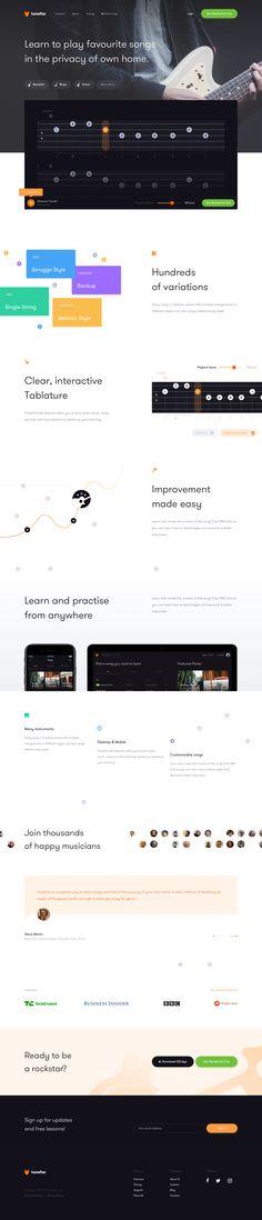 Dribbble - by Jaromir Kveton Interface Web, User Interface Design, Ui Ux Design, Website Design Inspiration, Design Ideas, Website Web, Web Project, Landing Page Design, Web Layout