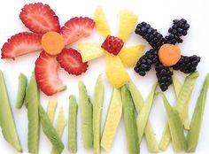 20 Easy Healthy And Edible Food Art For Kids - Cute food - Easy Food Art, Cute Food Art, Food Art For Kids, Diy Food, Food Kids, Toddler Food, Food Design, Kreative Snacks, Comida Diy