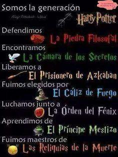 La generación Harry Potter al poder!!-Grangerperdida
