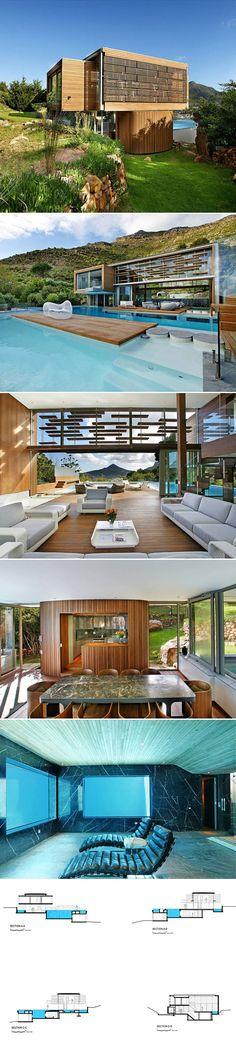 Spa House by Metropolis Design. Cape Town SA
