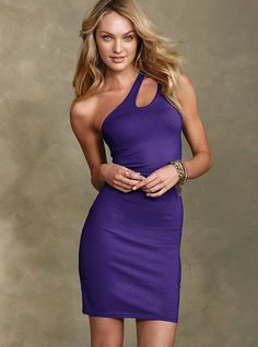 Victoria's Secret - I would like to find a fun 1-shoulder dress that isn't as form fitting, I don't do skin tight!