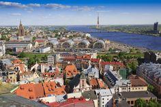 Riga skyline 1024x682 Layover In Riga, Latvia
