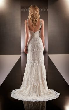 597 Designer Bridal Gown by Martina Liana