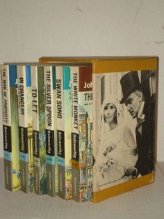 THE FORSYTE CHRONICLES by John Galsworthy 6 Vol boxed set P/B (1969) Novels