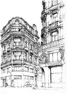 Free coloring page coloring-adult-paris-street.