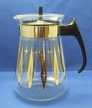 Vintage Pyrex Atomic Starburst Carafe 8 Cup Coffee pot