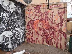 Photo: Dee Santillanes Murals Street Art, Colorado, Prints, Aspen Colorado, Printed, Colorado Hiking, Art Print