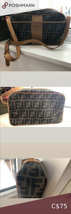 Vintage Fendi Bought on Poshmark Needs repair to strap or can be used as a makeup bag See pics of strap. cracks in various places. more than shown in pics Bag itself is in good vintage condition Fendi Bags Crossbody Bags Fendi Bags, Plus Fashion, Fashion Tips, Fashion Trends, Louis Vuitton Damier, Vintage, My Favorite Things, Crossbody Bags, Stuff To Buy