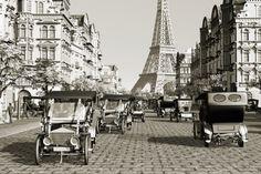 @TresorsDuMonde.ca partage: Paris d'antan