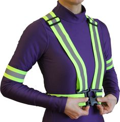 Best Reflective Vest for Running, Jogging or even Motorcycle Visibility!