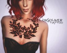 |OksOliver Tattoo Sims4|