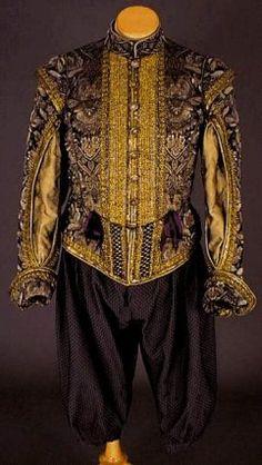 Mode Louis XIII, Le costume masculin de 1610 à 1660