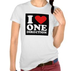 I Love One Direction T-shirt