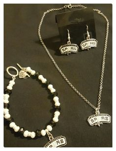 """""""San Antonio Spurs Jewelry"""" by maggie-perusquia on Polyvore featuring beauty"""