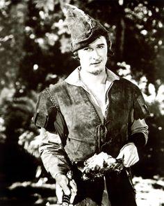 Errol Flynn, Robin Hood  Loved this version. :)