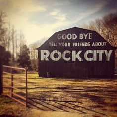 "The ""See Rock City"" barns are practically a  Tennessee institution, but you can see them all over the deep south."