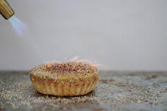 Classic Vanilla Creme Brulee Tart  www.sweetcharllote.com  #organic #rustic #tart #classic #cremebrulee