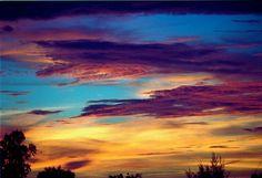 Just sunset