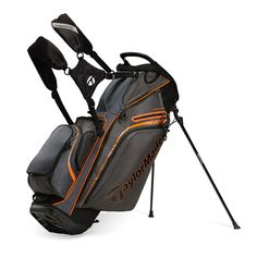 TaylorMade SUPREME HYBRID GOLF STAND BAG 2015 - 14 WAY TOP WITH 10 TOTAL  POCKETS Golf bca375f1e6971
