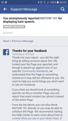 FB Community Standards are a joke What a joke... Seriously... MGTOW 101 sl*t shames western women and yet THAT is all okay with Facebook?!