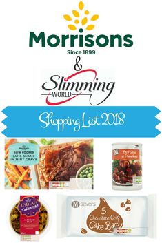 2018 Slimming World Shopping List Morrisons Aldi Slimming World Syns, Slimming World Shopping List, Slimming World Survival, Slimming World Recipes Syn Free, Slimming Eats, Shopping Lists, Slimming World Books, Syn Free Snacks, Syn Free Food