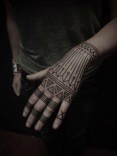 geometric tattoo - Поиск в Google