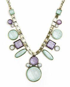 Pretty Jeweled Necklace.