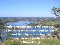 Learn what you need to learn and then practice it. http://www.moneymentalist.com/