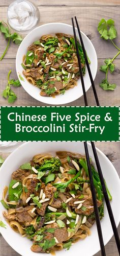 Chinese Five Spice & Broccolini Stir-Fry