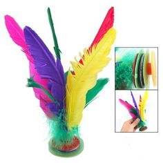 Five Color Feather Chinese Jianzi Toy Kicking Shuttlecock by uxcell. $4.86. Kicking Shuttlecock is a traditional sport toy called as Jianzi in China; Keep it always in the air with legs kicking it as long as possible; Exercise leg muscle strength and body flexibility.