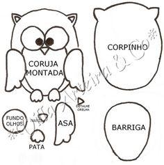 Lalena Diseños: MOLDES DE BÚHOS.. QUE LINDOS!!!