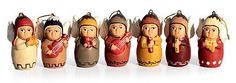 "Keramické ozdoby, ""Anděl Orchestra '(sada 7) - Vánoční svátky keramické ozdoby Anděl (sada 7)"