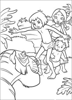 Disegni da colorare Il libro della giungla 44