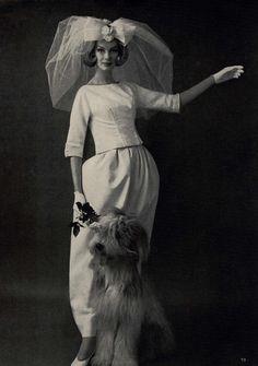 Mademoiselle, 1961. Photo by George Barkentin.