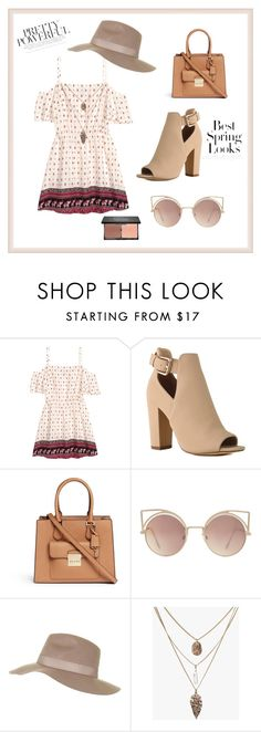 """Spring fashion"" by manarn5 on Polyvore featuring H&M, Michael Kors, MANGO, Topshop and blacklUp"