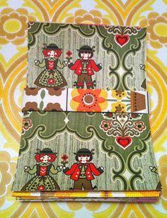 Vintage 1970s Wallpaper Craft Pack by Pommedejour on Etsy, $28.00