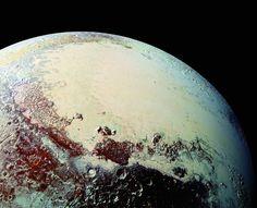 """Plutón tomado desde el """"New Horizons / Science 16 Oct 2015"""