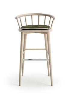 W. Barstool By Billiani | Hub Furniture Lighting Living