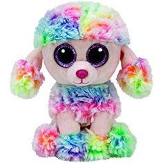Ty - TY37223 - Beanie Boo's - Peluche - Rainbow Le Caniche - 15 cm