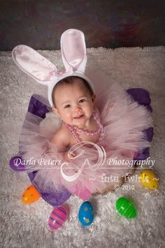 SWEET LiL BUNNY Tutu 3pc Set with Ears Headband and by TutuTwirls