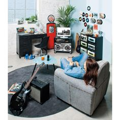 Commode cabinet multi tiroirs MUSIC