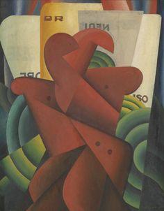 Pierre-Louis Flouquet : Composition Harlem Renaissance, Abstract Art Images, New Objectivity, Amsterdam School, Composition, Magic Realism, Art Deco, Museum Of Fine Arts, Belle Epoque