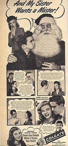 Colgate Ribbon Dental Cream 1946