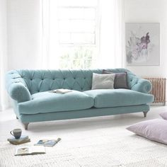 10 Things to Consider Choosing a Sofa Interiorforlife.com Chesterfield Style Sofa Bagsie Loaf Bagsie Sofa built by Glen and Aidan in Long Eaton England E1715