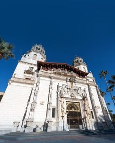Hearst Castle, San Simeon, California | 14 of the Most Amazing Fairy Tales Castles you should See in a Lifetime