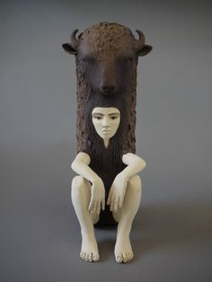 Crystal Morey Ceramic Sculptures